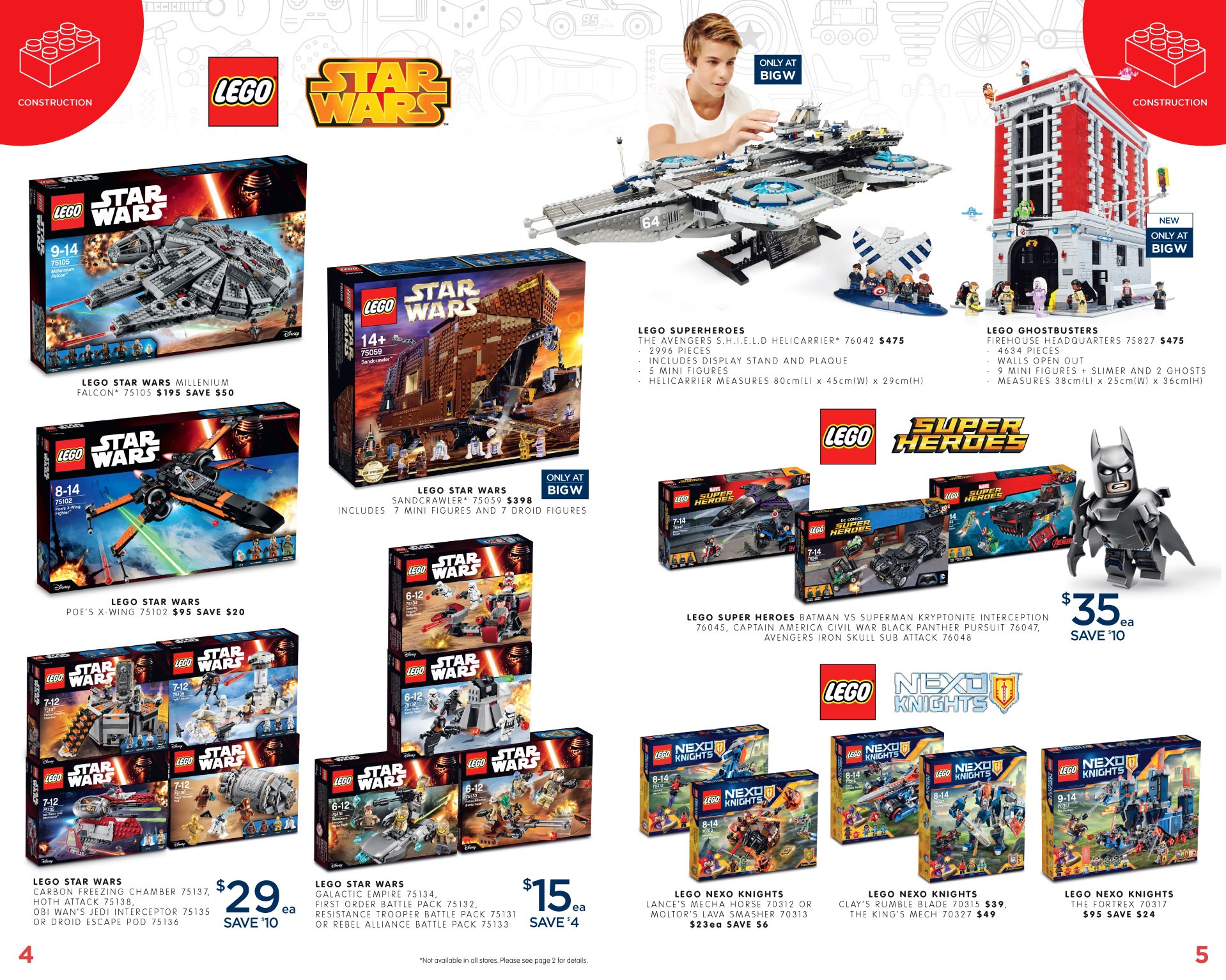 Big W Toys Catalogue Australian Lego Sales June 2016 Mid Year Toy Sale Edition