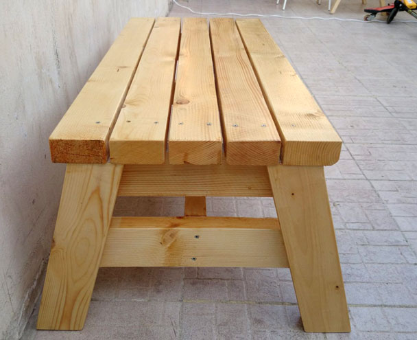 ... DIY Simple Sitting Bench Plans Download shelf plans 2×4 | woodideas