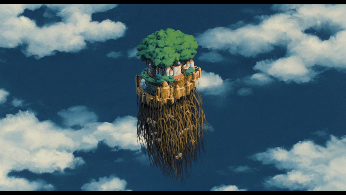 Girl Wallpaper Emoji With Word Vault Ghibli 2 Laputa Castle In The Sky