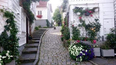 uliczka w Stavanger
