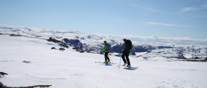 świat jest mój więc niech daje mi to czego chcę – kolejny skiturowy wypad w norweskie góry