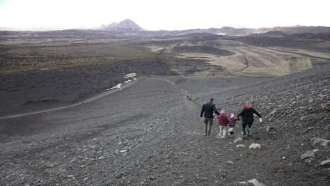 zejście z krateru