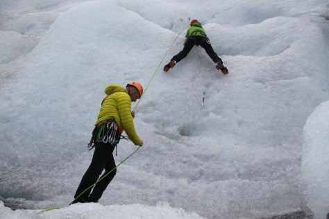 lodowe wspinanie
