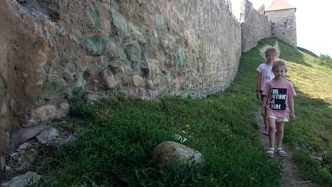 poznawanie rumuńskiego zamku