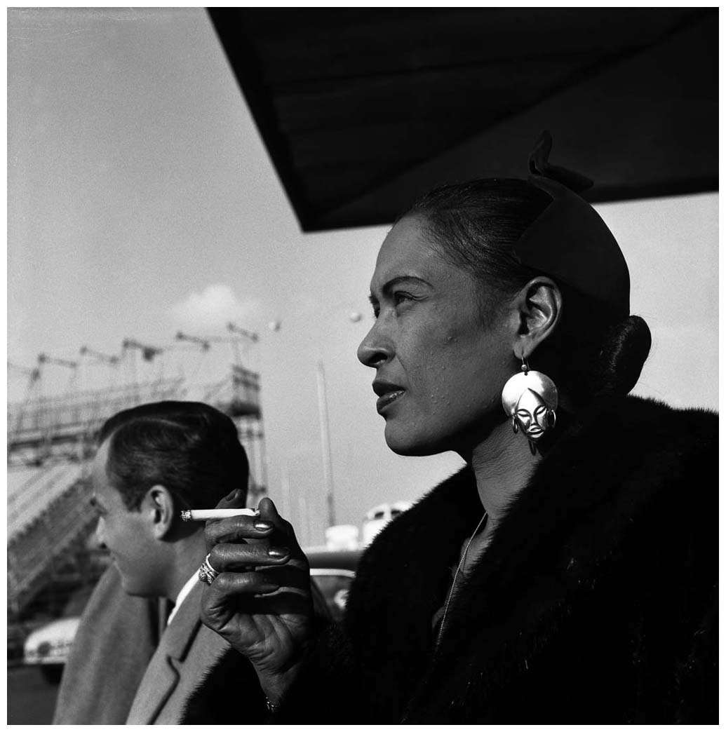 Billie Holiday Billie Holiday Orly France 1958 Jazzinphoto