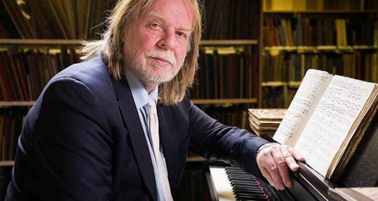 From The Interesting Film Company   PERSPECTIVES: RICK WAKEMAN  ON VIVALDI'S FOUR SEASONS Sunday 3rd May 2015 on ITV   Pictured: Rick Wakeman   Antonio Vivaldi's the Four Seasons is the most popular piece of classical music of all time.  There have been over 1000 different recordings , selling tens of millions of copies.   It's become so ubiquitous – in lifts, as phone ring tones or on call-centre answering machines – that it has been denounced as Muzak for the middle classes.  Rick Wakeman – platinum-selling prog rock keyboardist and television Grumpy Old Man – thinks the critics are wrong.   He believes that the Four Seasons was so far ahead of its time that it was actually the first ever concept album – and that Vivaldi was the world's first rock superstar. But how could a sickly 18th century priest create the prototype for Rick's very modern genre?  And why did Vivaldi and the Four Seasons disappear into obscurity for more than 200 years after his death?  Rick turns detective to solve the mystery: his journey takes him to Venice – in the 18th century the most debauched city on the planet – where he encounters some of those who have devoted their lives to studying and worshipping Vivaldi … and uncovers the whiff of a very modern rock star sex scandal. Which may have contributed to Vivaldi's downfall.     But the investigation also leads Rick to unexpected places and people.   He meets fellow prog rocker Mike Rutherford from Genesis and debates whose band Vivaldi would join; and he encounters the Croatian arranger and keyboard player whose multi-national assembly of musicians is turning the Four Seasons into heavy metal.    Along the way Rick also discovers the only existing original score for the Four Seasons … in just about the last place anyone would have thought to find it…  © The Interesting Film Company   For further information please contact Peter Gray  0207 157 3046 peter.gray@itv.com   This photograph is © ITV and can only be reproduced for editorial purposes directly in connection with the  programme PERSPECTIVES or ITV. Once made available by the ITV Picture Desk, this photograph can be reproduced once only up until the Transmission date and no reproduction fee will be charged. Any subsequent usage may incur a fee. This photograph must not be syndicated to any other publication or website, or permanently archived, without the express written permission of ITV Picture Desk. Full Terms and conditions are available on the website www.itvpictures.com