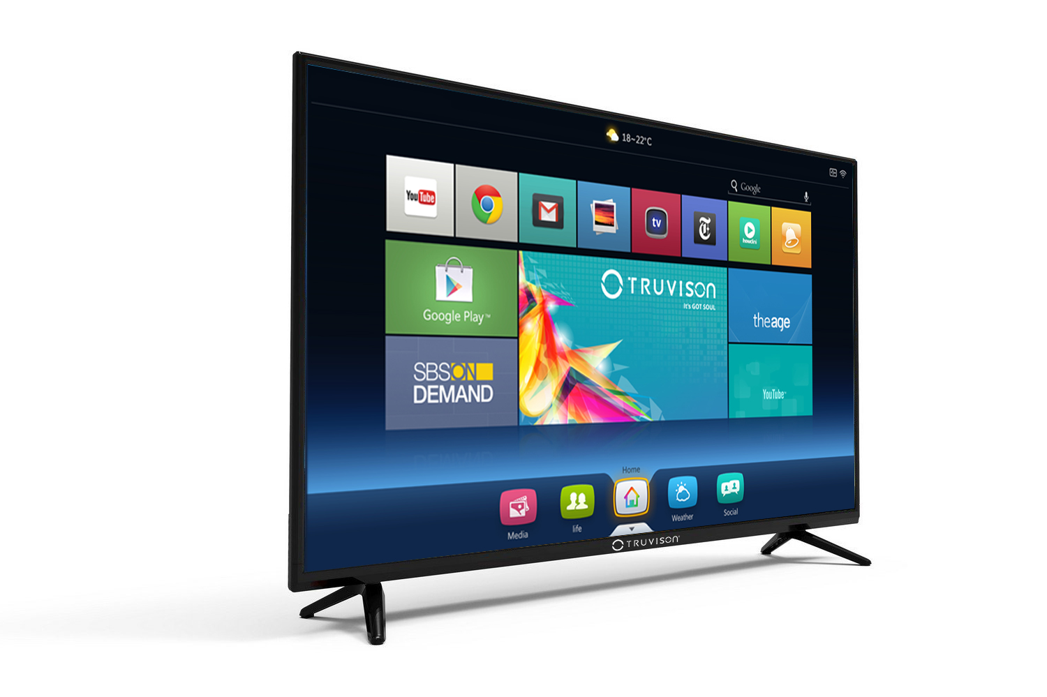 40 Inch Smart Tv Deals Truvison Introduces Its Newest 40inch Smart Led Hd Tv Tx408z