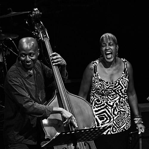 Rene Marie y Kevin Hamilton   Concierto: René Marie en el Festival Jazz San Javier, un regusto a elegancia   Fotografía