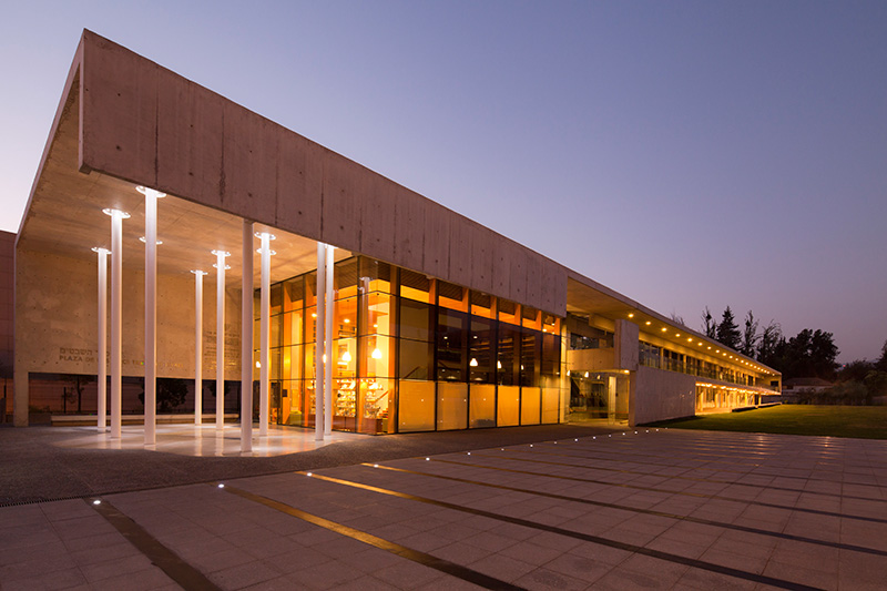 Jaime bendersky arquitectos c rculo israelita de santiago for Centro de eventos jardin botanico