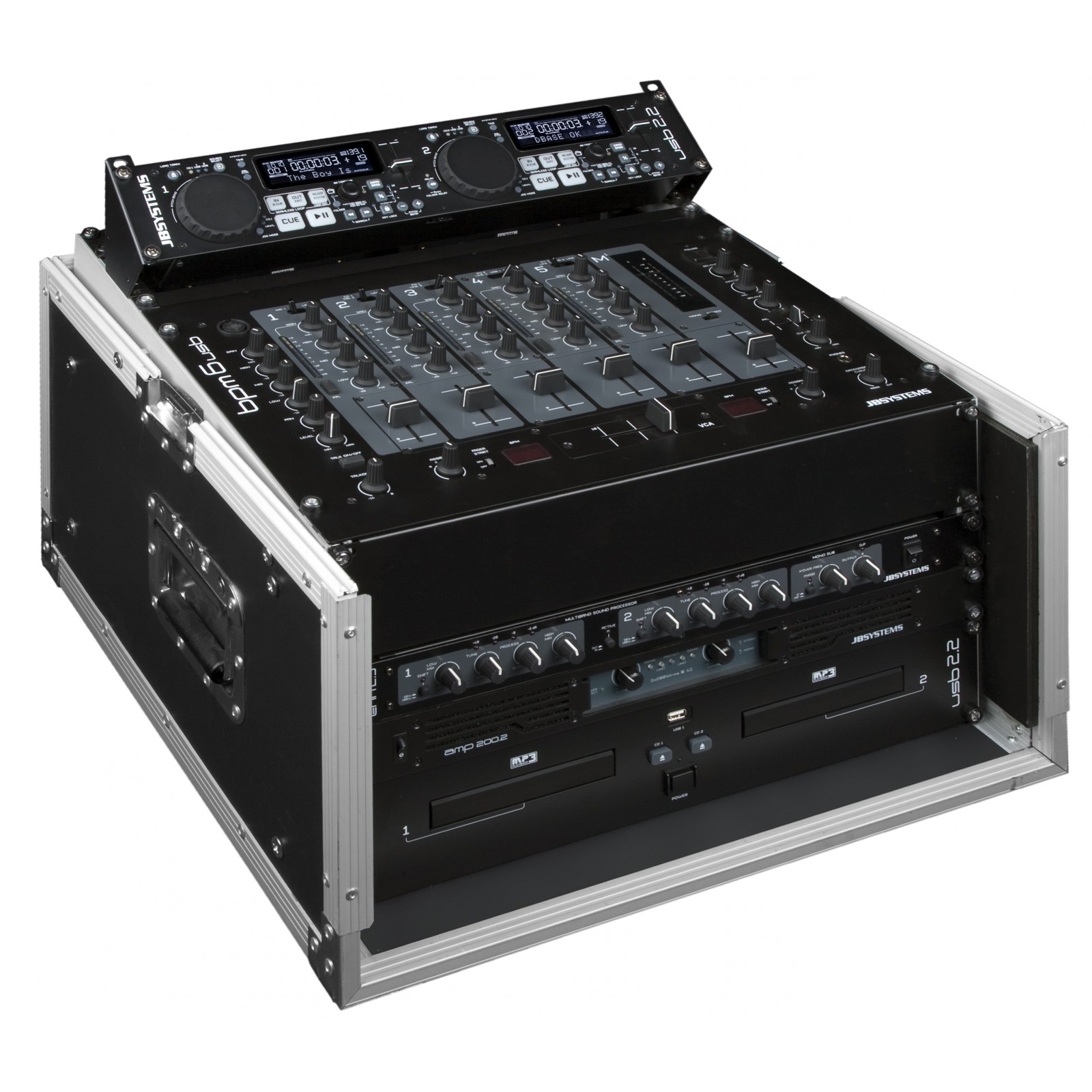 Jb Lighting Varyled A7 Zoom Jb Systems Dj Case 10 6u