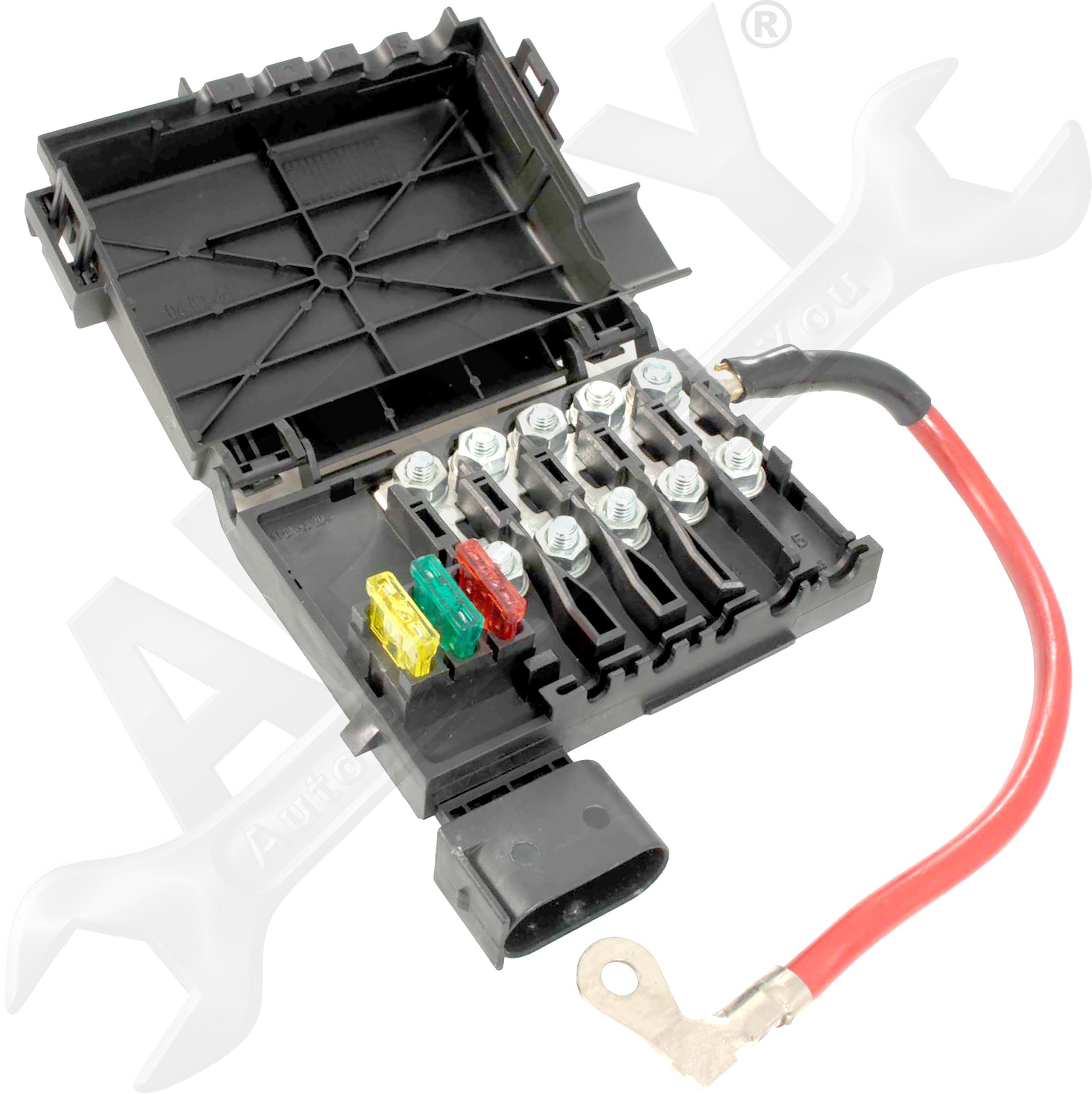 battery fuse box melting