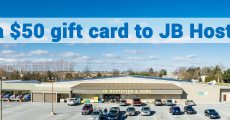 Win a $50 Gift Card to JB Hostetter