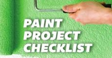Paint Project Checklist: For Before, During, and After Painting