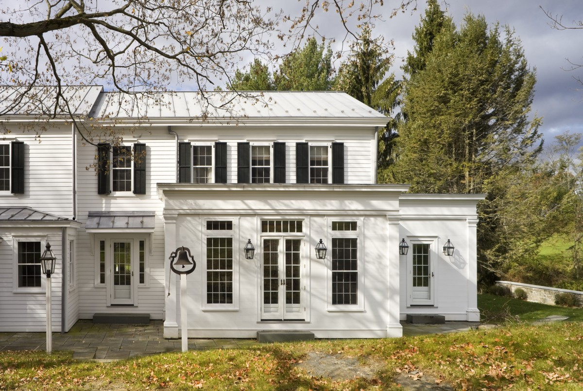 Greek Revival Farmhouse Architecture John B Murray Architect