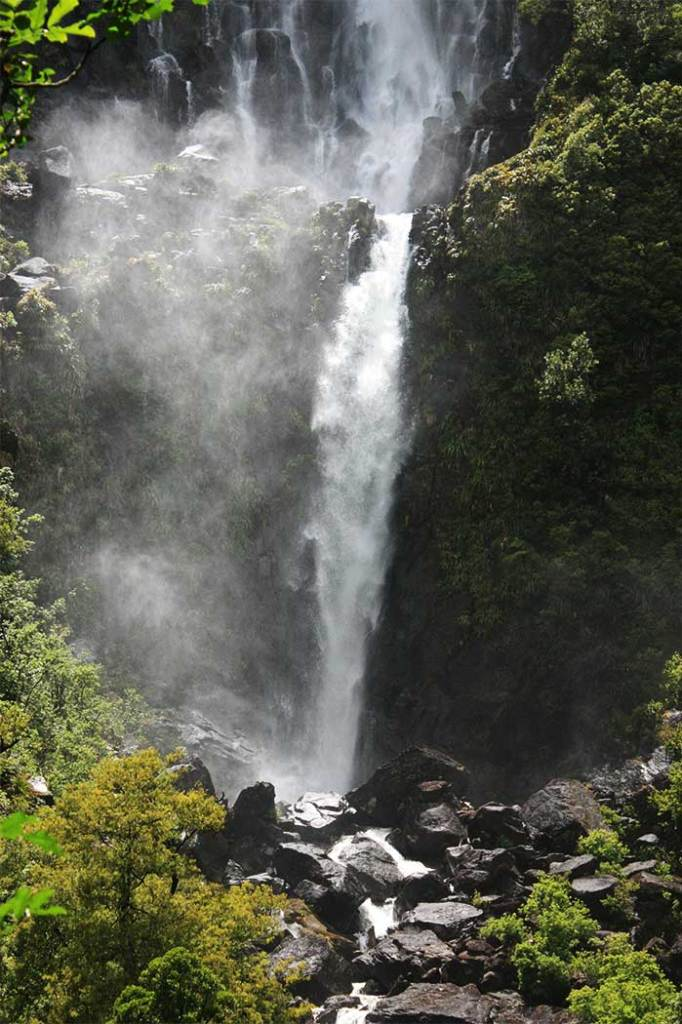 Wairere falls Matamata countryside New Zealand