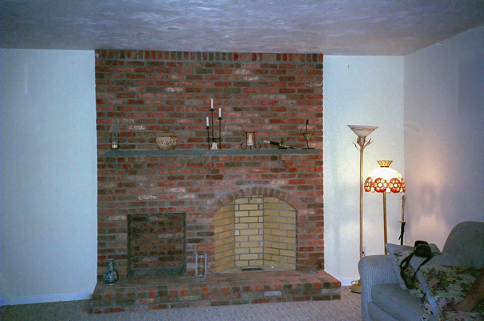 Wood Fireplace Construction Rumford Fireplace Construction In Massachusetts