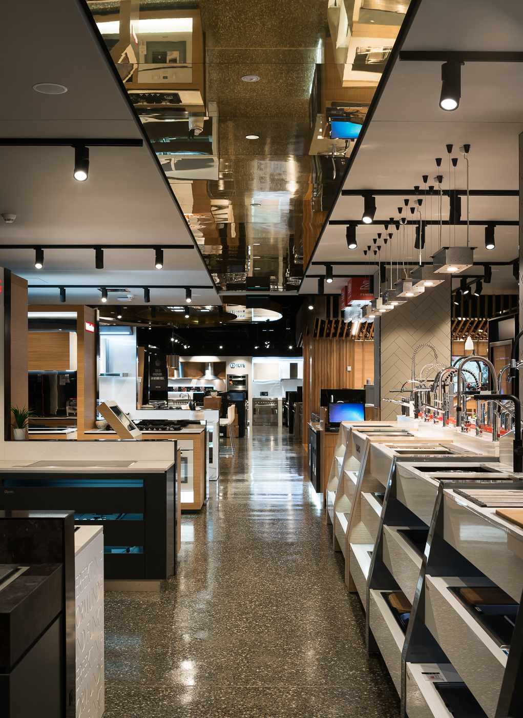Kitchen Shop Bundall Harvey Norman Cooking Showroom Jbm Projects