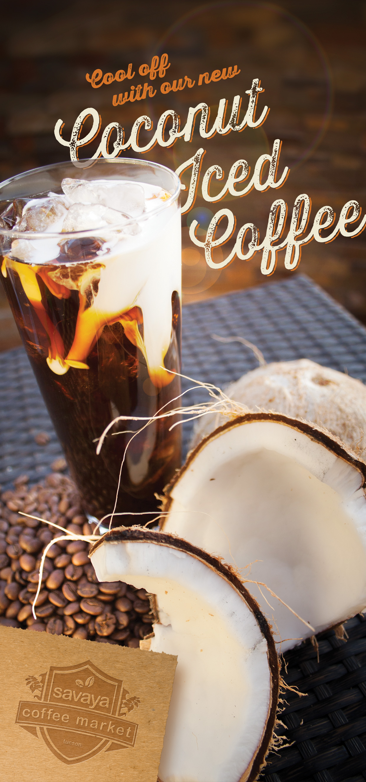 Kaffee Poster Coconut Coffee Poster J Christopher Design