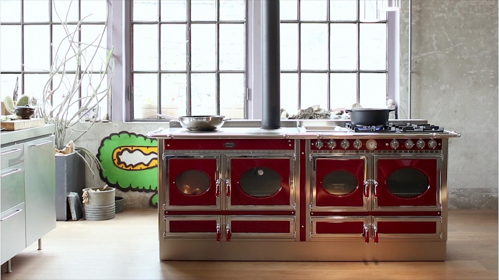 Cucina A Legna E Gas Prezzi J. Corradi: Wood-burning And Pellet Range Cookers