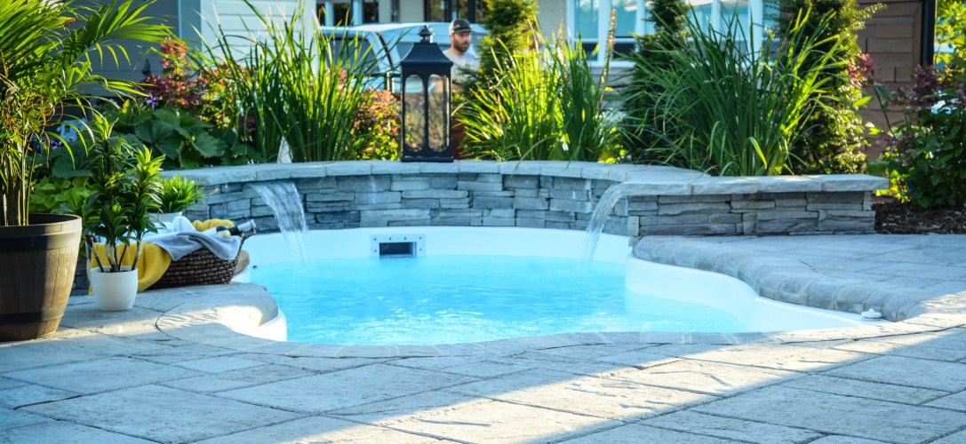 piscine en fibre de verre