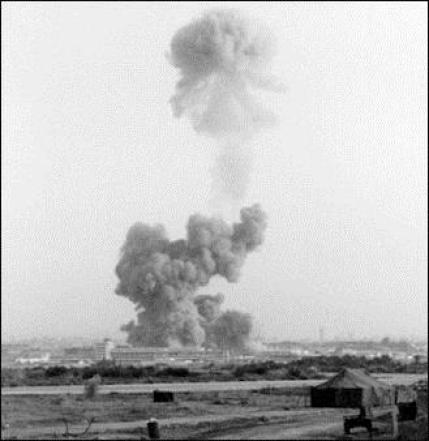 "The U.S. Marines HQ immediately following the huge detonation in Oct. 1983. ""The largest non-nuclear explosion that had ever been detonated on the face of the Earth."" Although Hizbullah and IRGC were believed to have planned and executed the attack, no arrests were ever made."