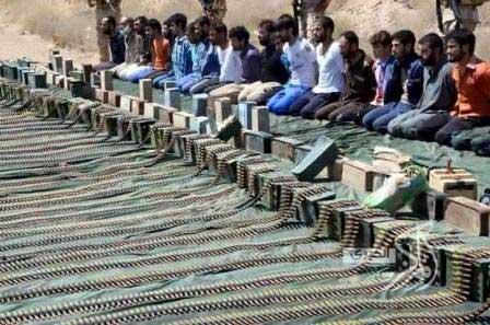 Men captured in Sinai (Egypt Daily News)