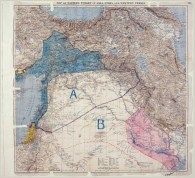 Original Sykes-Picot map