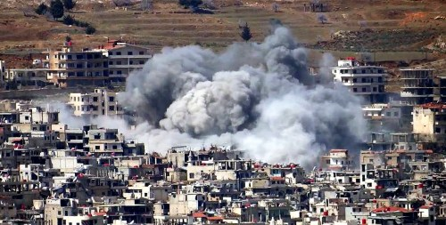 Explosion in southern Damascus