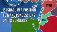 Is Israel in a position to make concessions on its' borders?