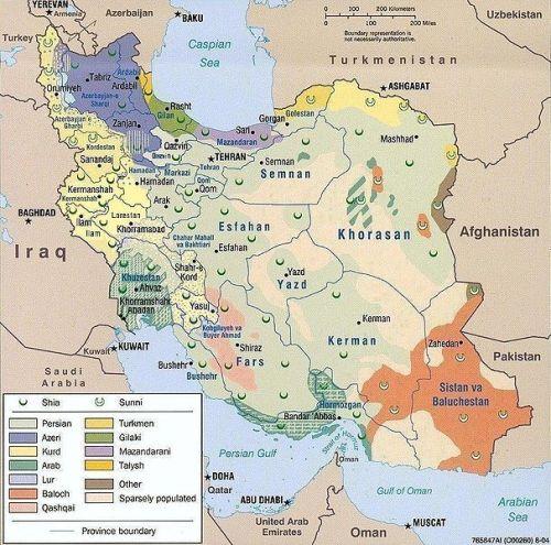 Iran's Ethnic Diversity (U.S. Institute of Peace)