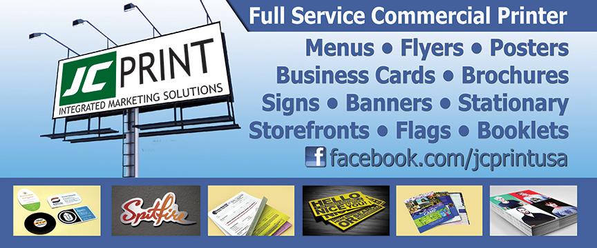 JC Print Business Cards, Flyers, Letterhead, Brochures