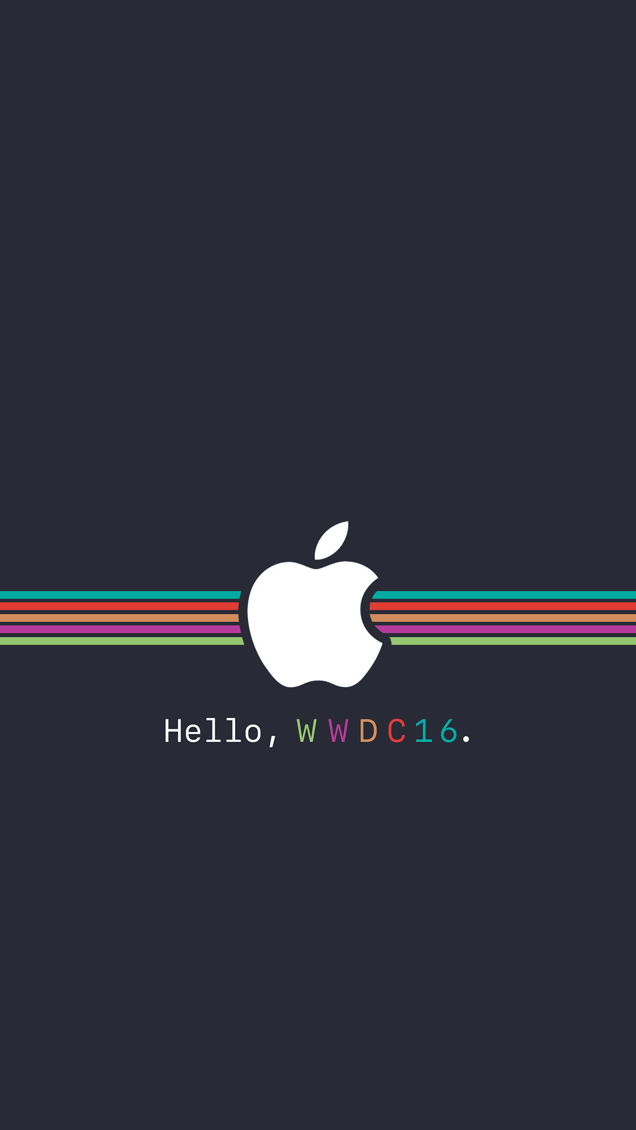 Simple Quotes Hd Wallpapers Fonds D 233 Cran Wwdc 2016 Pour Iphone Ipad Apple Watch Et