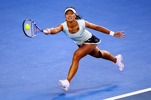 Girl Wallpaper Longitudinal Physicality Of Tennis Playing Tennis