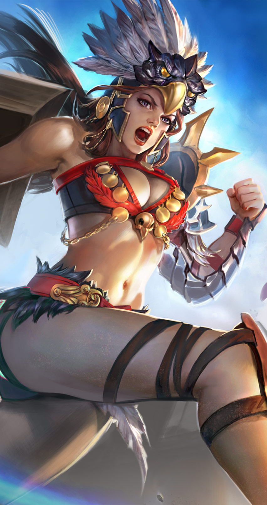 Daisy Iphone Wallpaper Introducing The Epic Gladiator Catherine Skin Vainglory