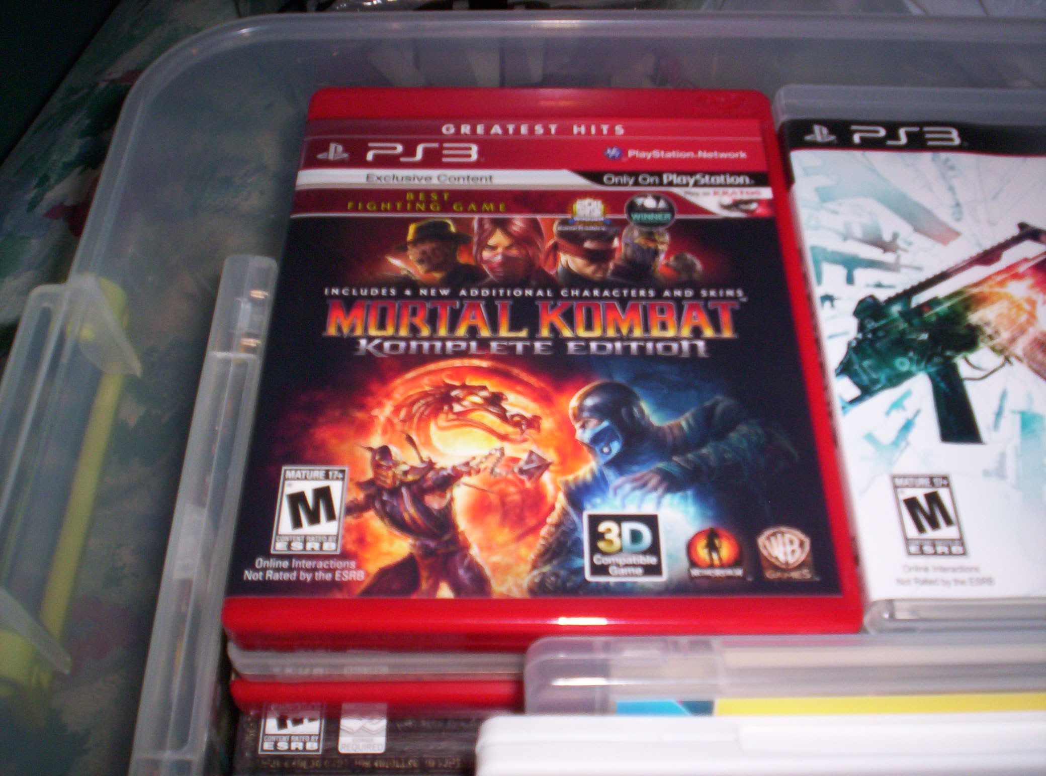 Edition For Ps3 Gamer Update 12 Mortal Kombat Komplete Edition For Ps3