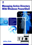 Managing AD with PowerShell cover