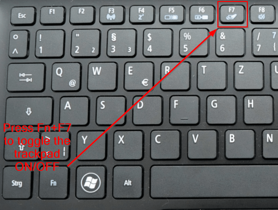 Asus Toetsenbord Verlichting Werkt Niet Disable Trackpad On An Acer Laptop And Other Brands