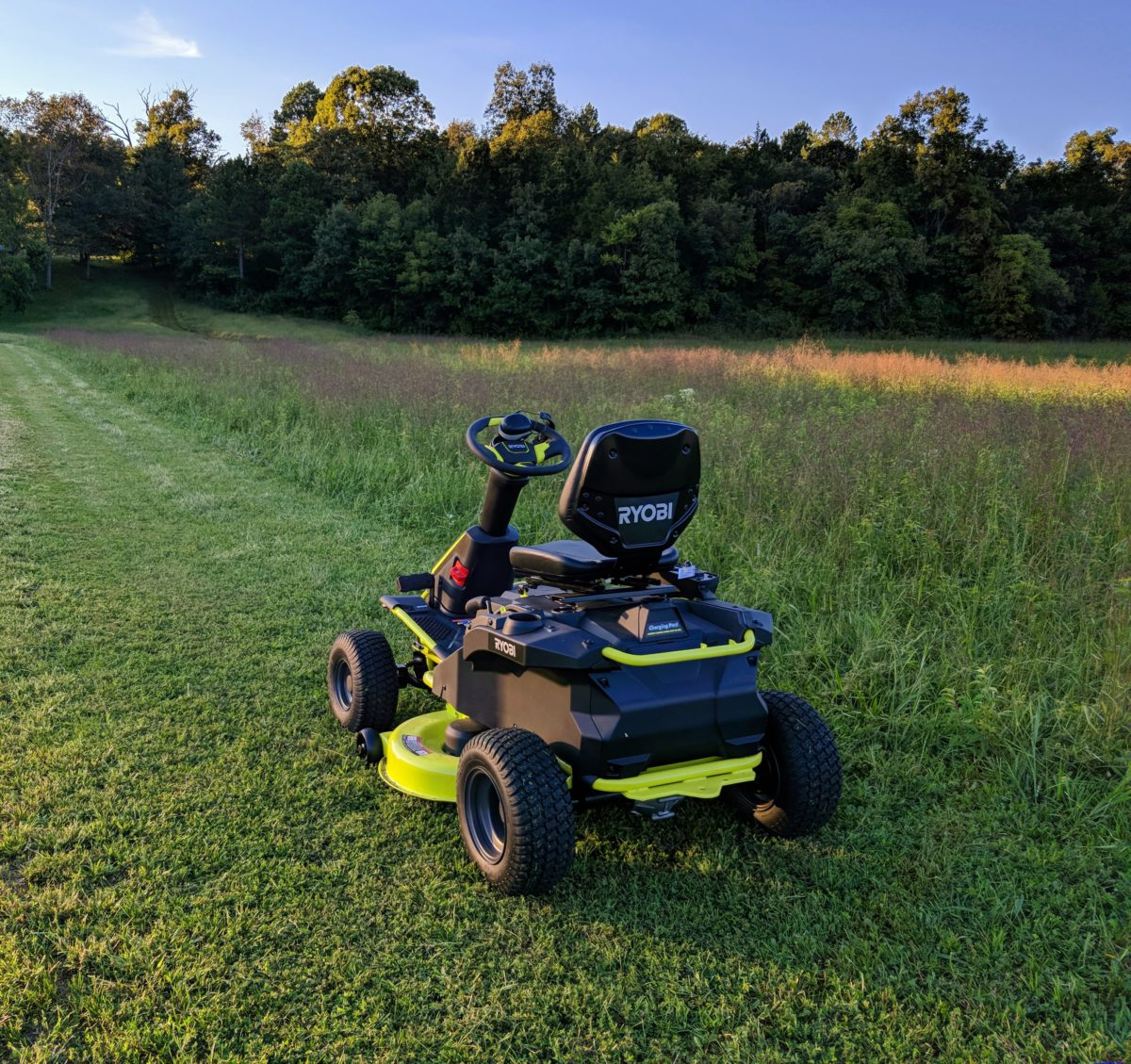 Electric Lawn Mower Sale Ryobi Electric Riding Lawn Mower Reviews