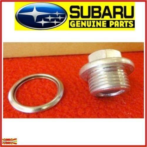 Genuine Subaru Magnetic Oil Sump Pan Drain Plug Wrx Sti