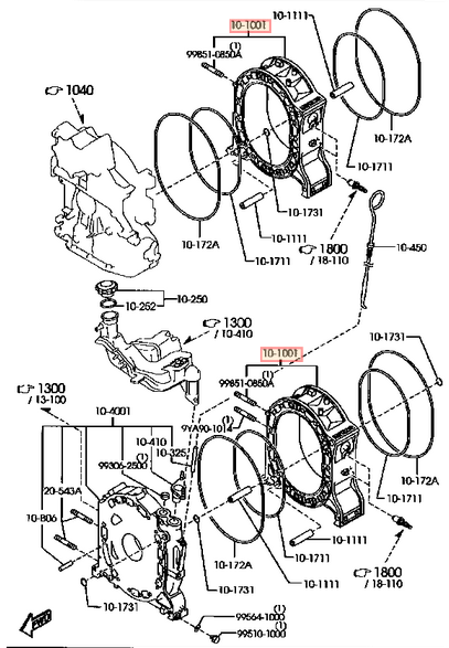1993 mazda rx7 engine rebuild kit