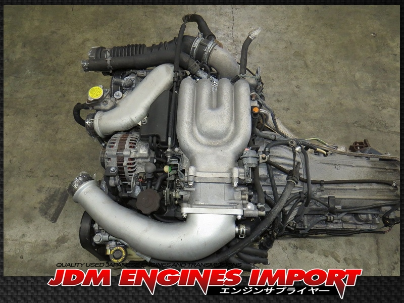 JDM Mazda RX7 13B 13L FD3S Twin Turbo Rotary Engine Automatic