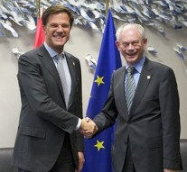 Bizar: Rutte eert Herman Van Rompuy