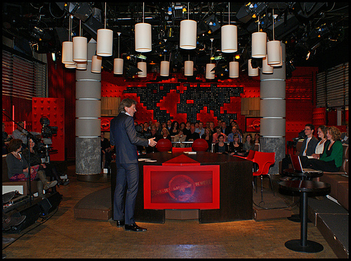 "Zomaar ""conspiracy tv"" bij DWDD"