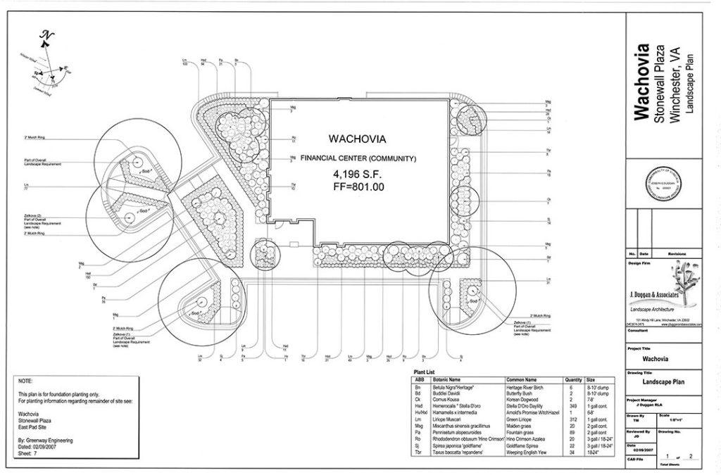 Landscape Architectural Services J Duggan  Associates, PC