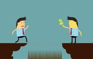 Money pitfall