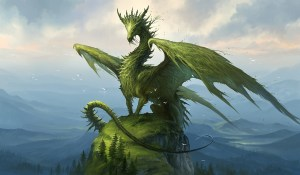 Green Dragon of Wisdom Gatekeeper to Uncondtional Love