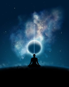 Meditation with cosmos