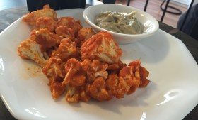 ::Vegan Buffalo Cauliflower::