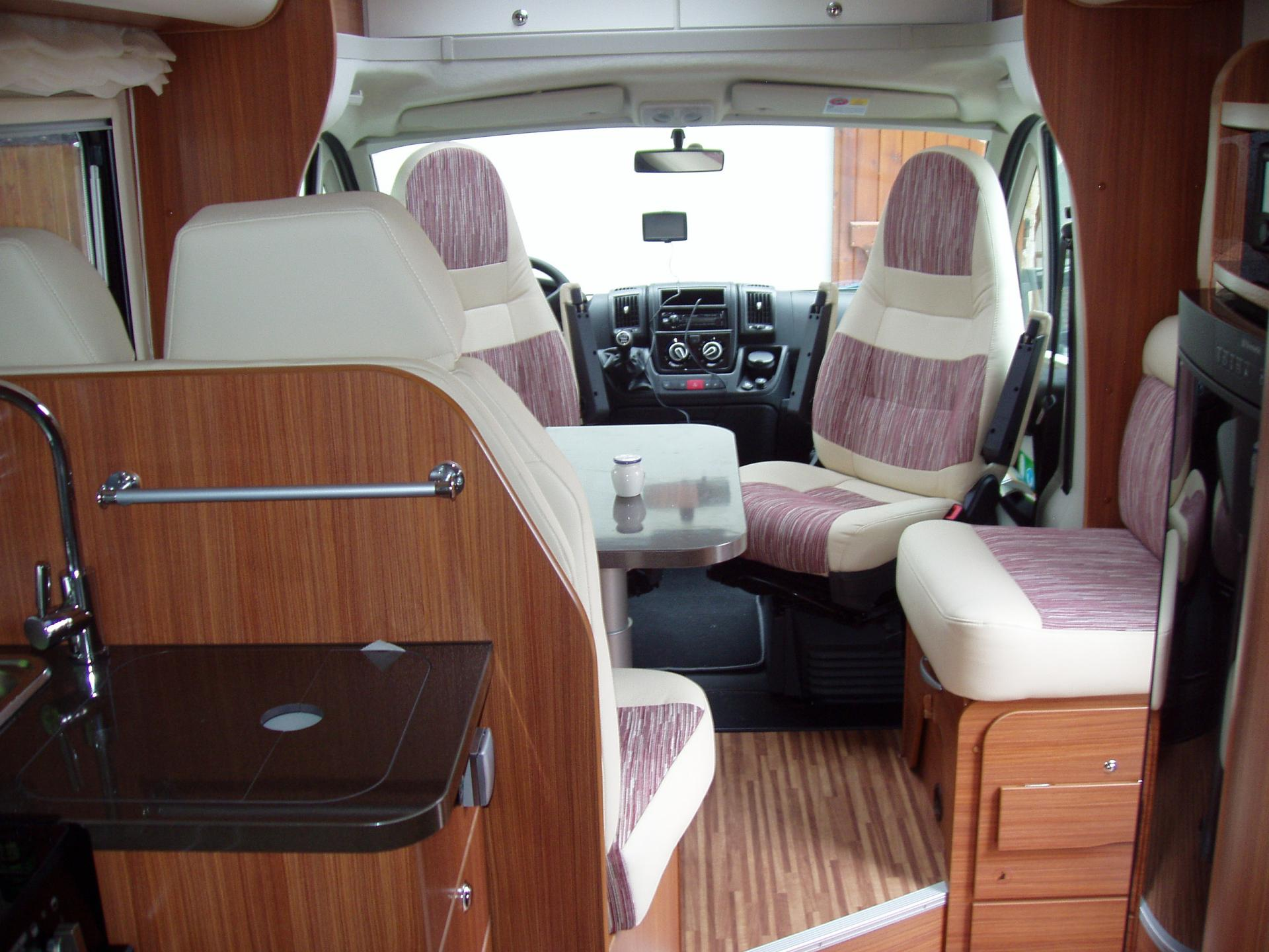 Interieur Camping Car Nos Camping Cars