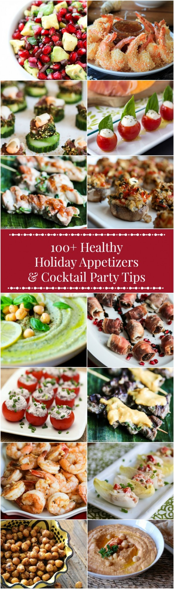 Healthy Christmas Appetizers Pinterest 100 Healthy Holiday Appetizer Recipes Cocktail Party Menu